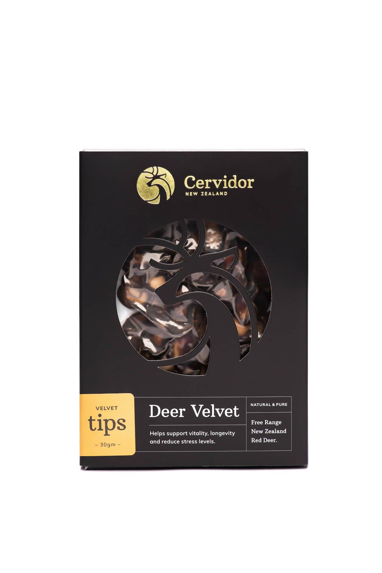 Dried Deer Velvet Tips