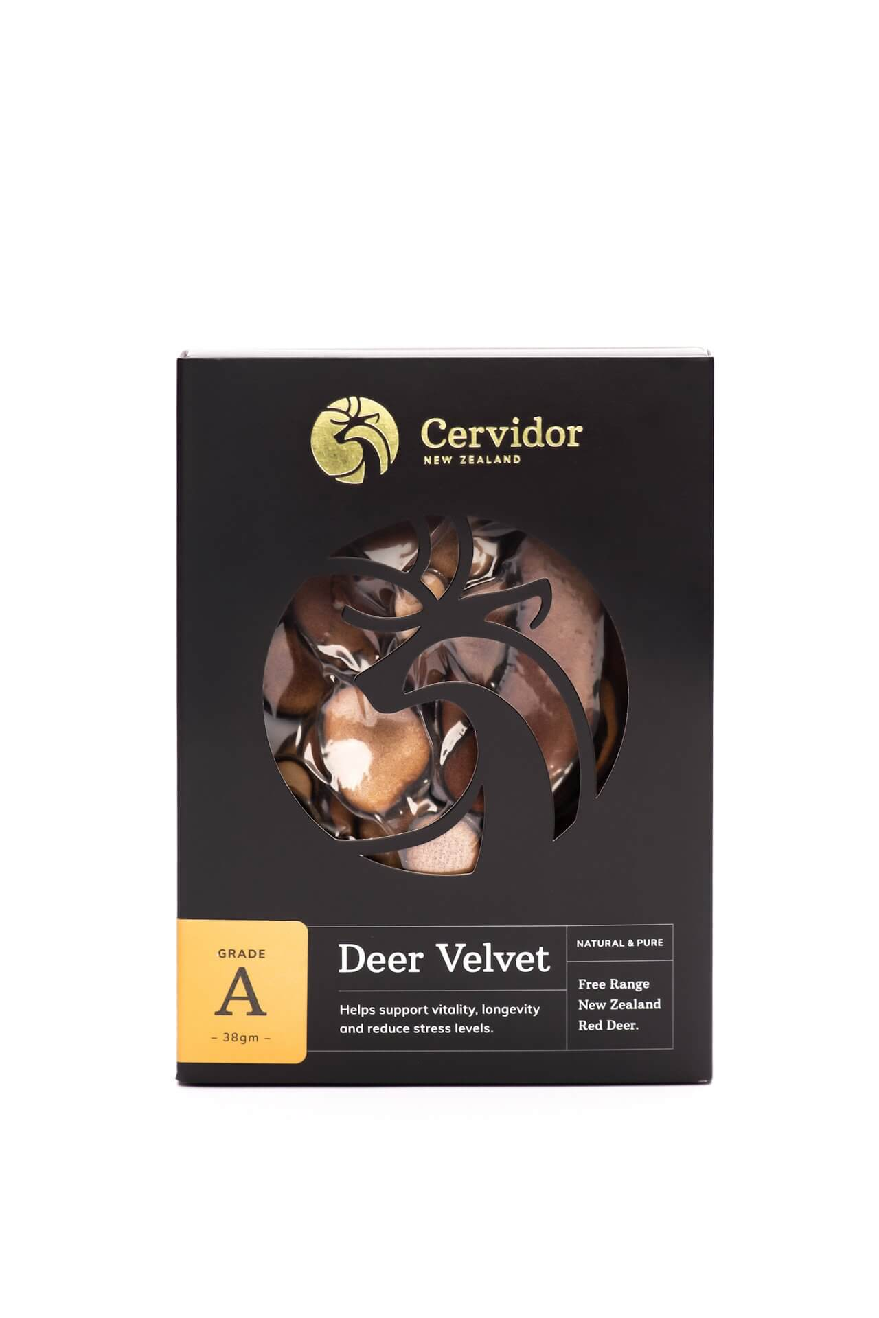 Dried Deer Velvet Slices A Grade