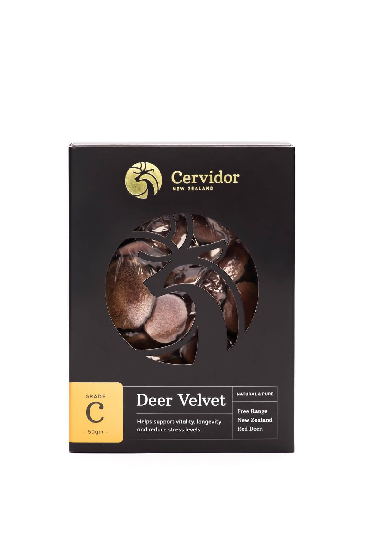 Dried Deer Velvet Slices C Grade
