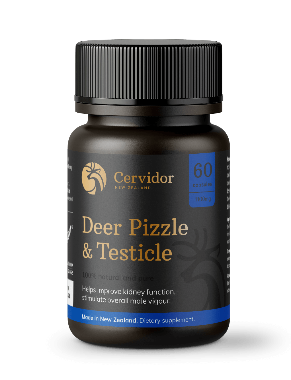 Deer Pizzle and Testicle Capsules